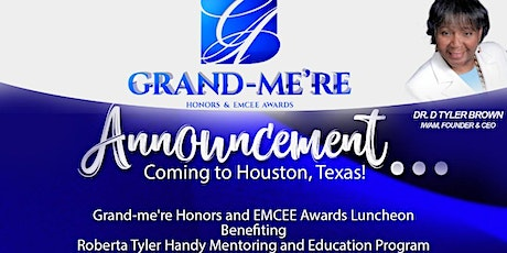 International Women's Alliance Ministries Grand-Me're Honors & EMCEE Awards tickets