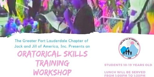 Free Oratorical Skills Training Workshop for Youth Ages 10-19 Years Old