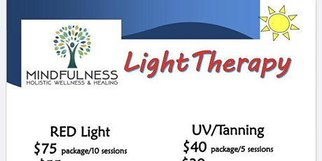 Red Light Therapy tickets