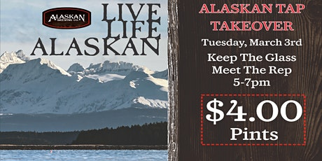 Alaskan Tap Takeover tickets