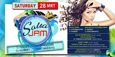 Salsa Jam tickets