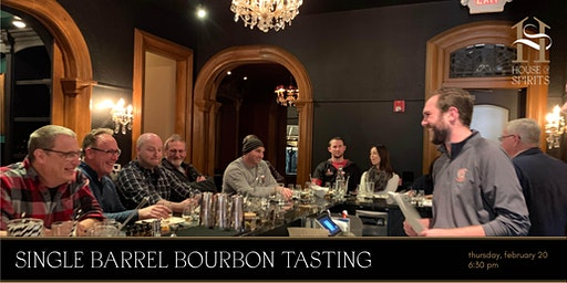 Single Barrel Bourbon Tasting