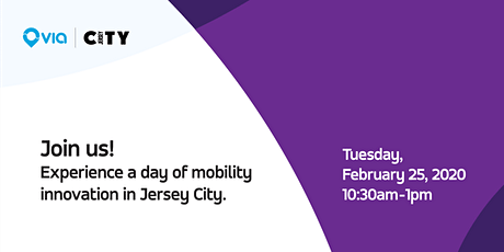 Jersey City On-Demand Launch & Mobility Lunch tickets