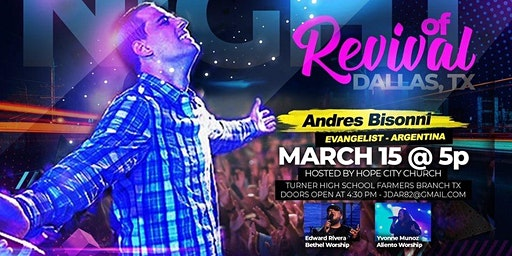 Night of Revival with Hope City Church