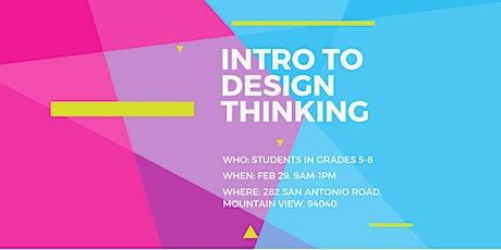 Intro to Design Thinking tickets