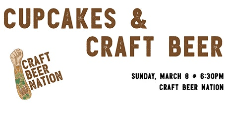 Cupcakes and Craft Beer tickets