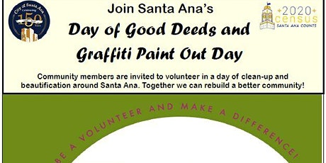 Day of Good Deeds and Graffitti Paint Out Day tickets