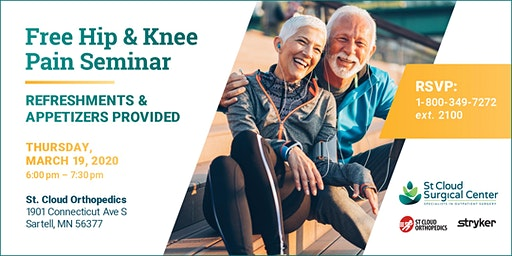 Overcome Joint Pain with Mako Technology  - FREE Seminar