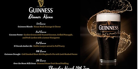 Guinness Beer Dinner tickets