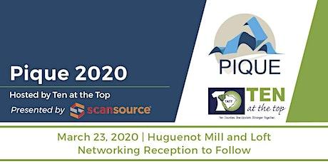 Pique 2020 tickets