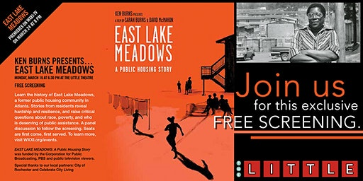 East Lake Meadows: A Public Housing Story Screening and Discussion