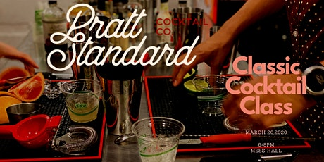 Classic Cocktail Class- March tickets