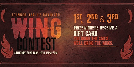 Wing Contest tickets
