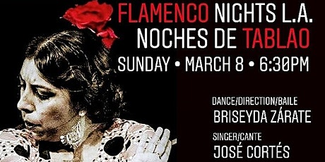 Noche de Tablao Flamenco Night with Briseyda Zárate & Co. tickets