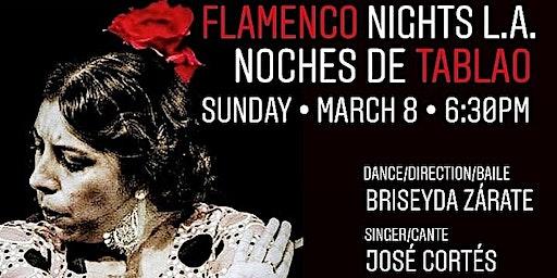 Noche de Tablao Flamenco Night with Briseyda Zárate & Co.