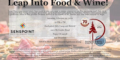 Leap into Food and Wine tickets