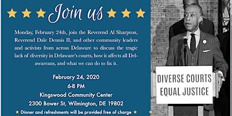 Dinner & Conversation with Reverend Al Sharpton tickets