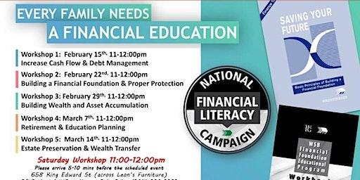 Financial Education Workshop-Saturday