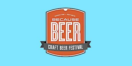 Because Beer Craft Beer Fest SATURDAY TICKET tickets