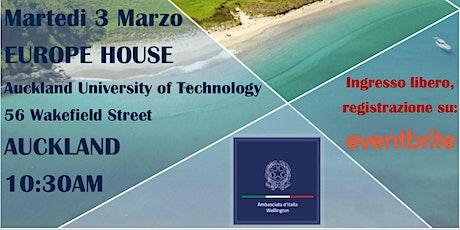 Seminario Informativo per i Nuovi Arrivati @Europe House, Auckland tickets