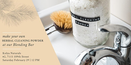 Make Your Own Herbal Cleaning Powder tickets