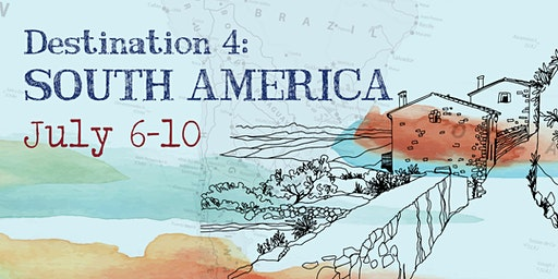 Around the World Summer Art Camp   Destination 4: July 6th - 10th