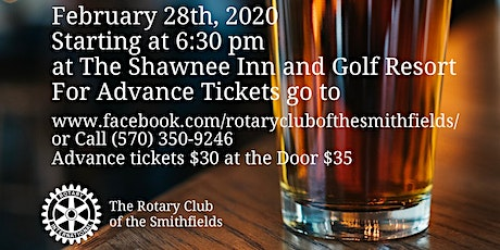 Rotary of the Smithfields Beer Tasting Fundraiser 2020 tickets