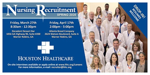 Houston Healthcare's Nursing Recruitment Spring 2020