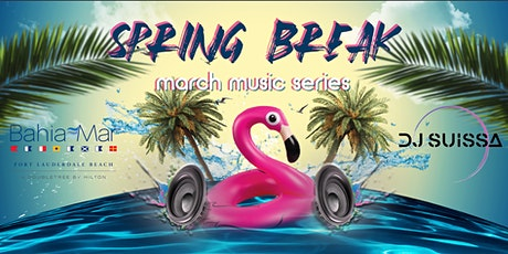 SPRING BREAK POOL PARTY AT THE BAHIA MAR ROOFTOP POOL DECK tickets