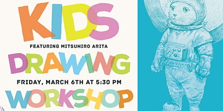 Pensapreneur Kids Drawing Workshop & Live Demo tickets