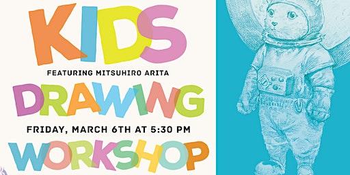 Pensapreneur Kids Drawing Workshop & Live Demo