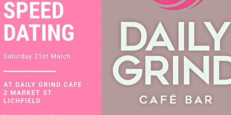 Speed Dating at The Daily Grind Cafe Bar tickets