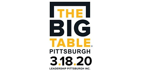 The Big Table Pittsburgh tickets