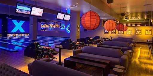 Bowling at Lucky Strike: Strikes and Revelers