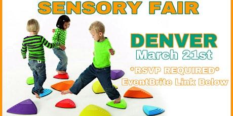 FREE! Sensory Fair DENVER tickets