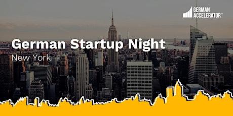German Startup Night tickets