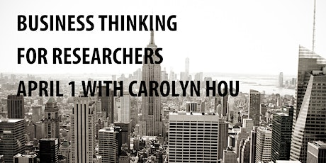 UX Workshop – Business Thinking for Researchers tickets