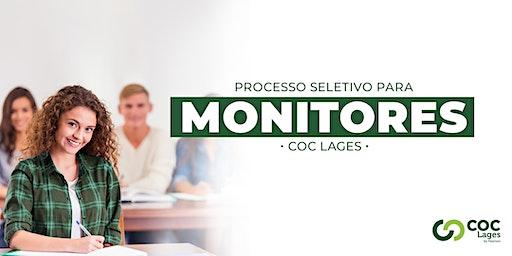 Concurso Monitoria COC Lages