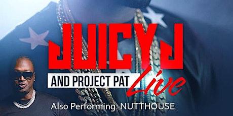 Juicy J & Project Pat tickets