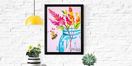 Coffee & Canvas: Bee & Mason Jar tickets