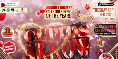 Cupids Arrow  - TAKE ME OUT - Gameshow tickets