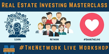#TheNetwork Class For Beginners | Michigan Real Estate Investor Network tickets
