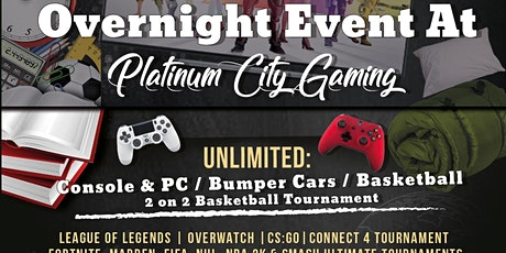 PCG's Level Up Lock-in tickets