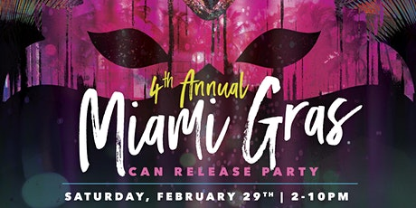 4th Annual Miami Gras tickets