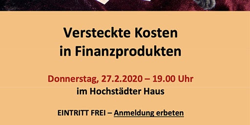 Seminar-Versteckte Kosten in Finanzprodukten