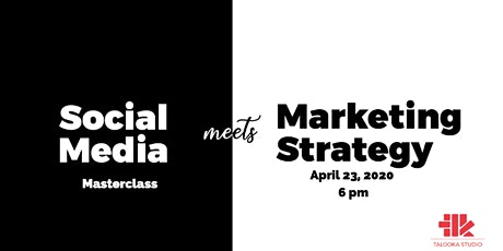 Social Media Meets Marketing Strategy  tickets
