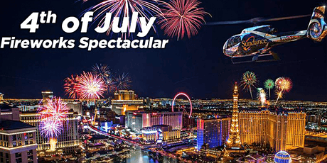 4TH OF JULY LAS VEGAS HELICOPTER RIDE  tickets