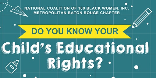 Do You Know Your Child's Educational Rights?