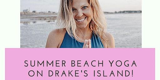 Drake's Island Summer Beach Yoga