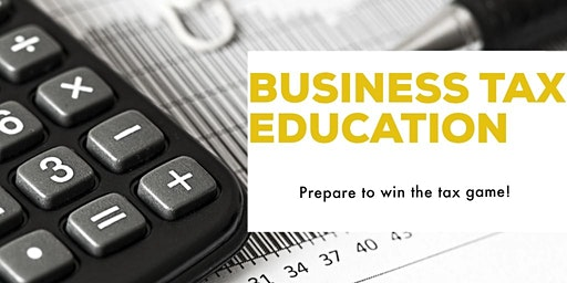 FREE small business tax seminar on HELPING BUSINESS OWNERS WIN!